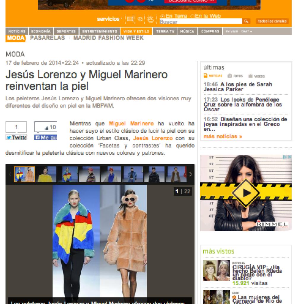 Jesús Lorenzo y Miguel Marinero reinventan la piel b8cf7134d1874